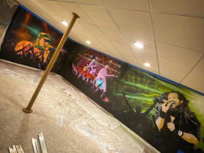Concert Basement Mural