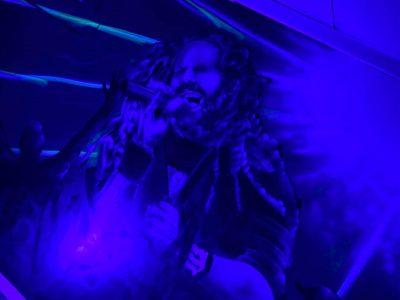 Korn Black Light reactive